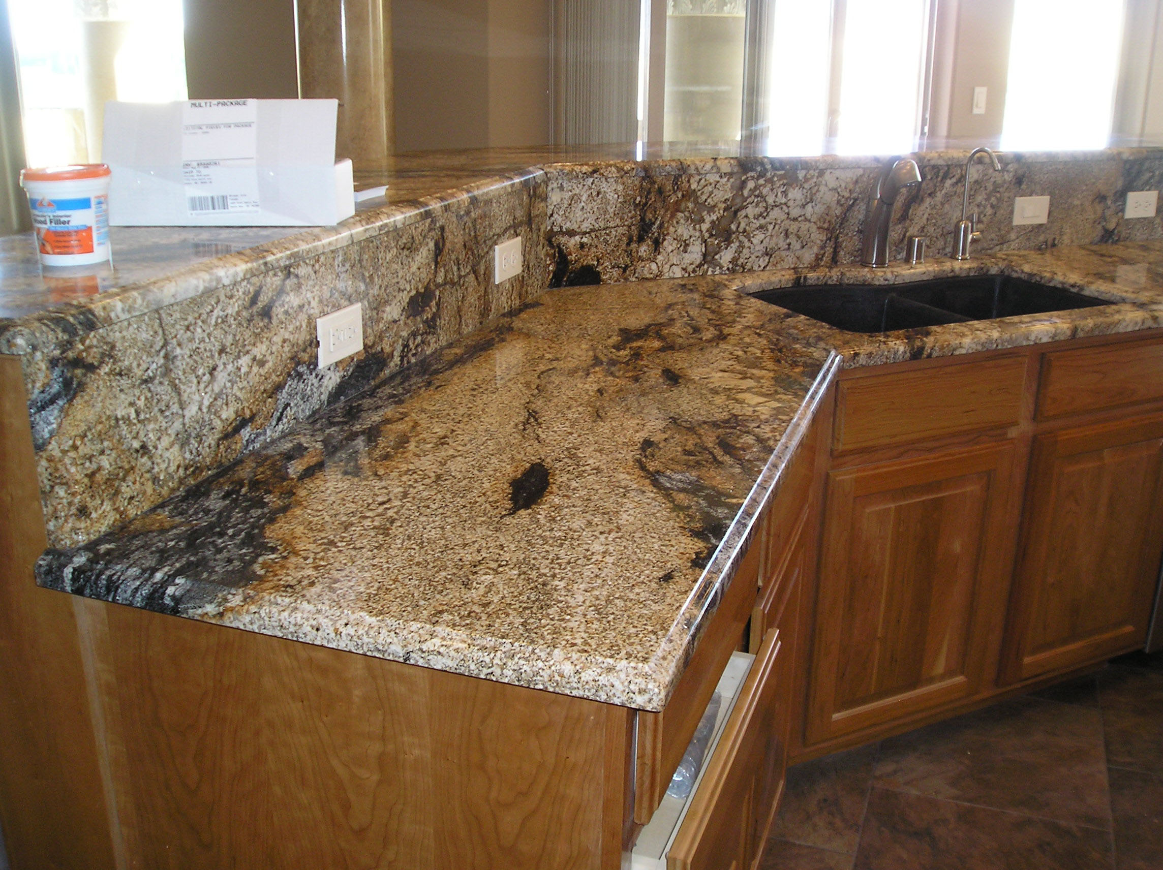 Kitchen granite and marble stone countertops tiles for Kitchen countertops